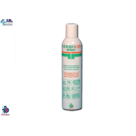 GERMO DESINFECTANTE GERMOCID SPRAY - FRASCO DE 400 ML (5 UDS)