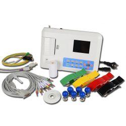 CONTEC ECG CONTEC 300G - ELECTROCARDIÓGRAFO 12 DERIVACIONES, 3 CANALES CON PANTALLA E INTERPRETACION