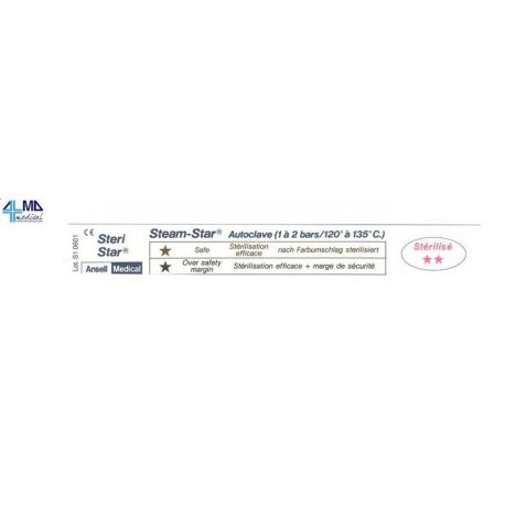 ANSELL MEDICAL TEST PARA AUTOCLAVE BIOSER (1.000 UDS)
