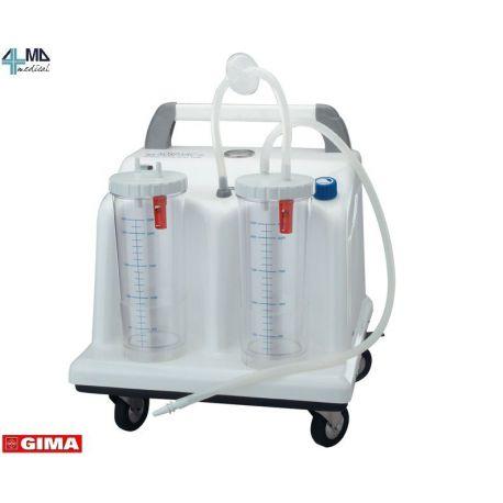 GIMA ASPIRADOR QUIRÚRGICO TOBI CLINIC - 2X2 LT - 230 V