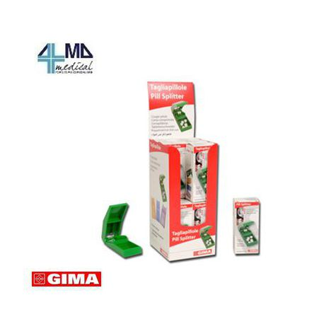 GIMA CORTA PASTILLAS WHIT CAJA - CAJA DE 12 UDS ( 4 X 3 COLORES)
