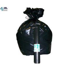 ALMAMEDICAL BOLSAS DE BASURA - 50X60 CM - 30 LT - 30 MICRAS - NEGRO (50 UDS)