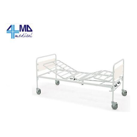 GIMA CAMA DE HOSPITAL CON 3 ARTICULACIONES Y 2 MANIVELAS - SIN RUEDAS