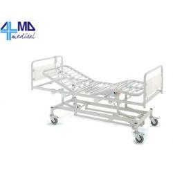 GIMA CAMA DE HOSPITAL CON 3 ARTICULACIONES - ELÉCTRICO - CON RUEDAS - ALTURA VARIABLE