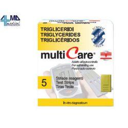 BSI MULTICARE TIRAS TRIGLICÉRIDOS (5 TIRAS)