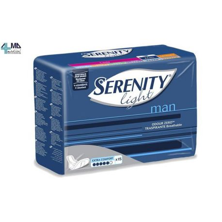 SERENITY PAÑAL ABSORBENTE PARA INCONTINENCIA - SERENITY LIGHT NORMAL - (CAJA 12 UDS)