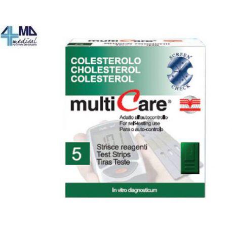 BSI MULTICARE TIRAS COLESTEROL (5 TIRAS)