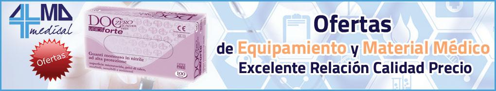 Ofertas de Equipamiento y Material Médico, excelente relación calidad precio