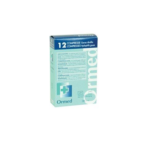 GIMA COTTON GAUZE SWABS 18X40 CM - 50 X BOX OF 12 PCS