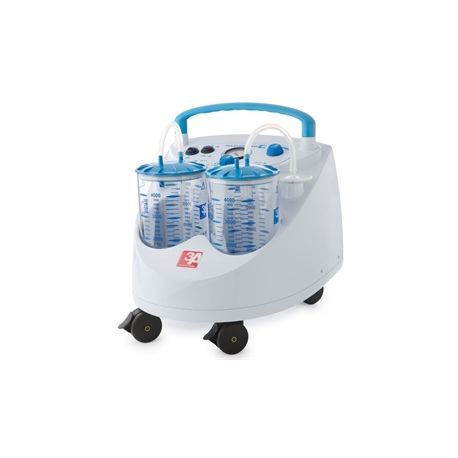 GIMA MAXI ASPEED SUCTION 90L 2X4L JAR WITH FOOTSWITCH - 230V