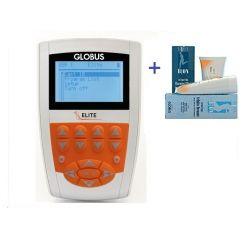 GLOBUS ELECTROSTIMULADOR ELITE + KIT + 1 CREMA REAFIRMANTE GLOBUS