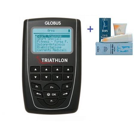 GLOBUS ELECTROSTIMULATOR TRIATHLON +1 GLOBUS FIRMING CREAM