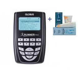 GLOBUS ELECTROSTIMULATOR RUNNER PRO + KIT +1 GLOBUS FIRMING CREAM