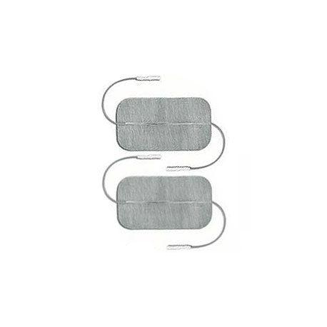 GLOBUS ELECTRODOS MYOTRODE PLATINO 50X90 2 CABLES - (PAQUETE 2 UDS.)
