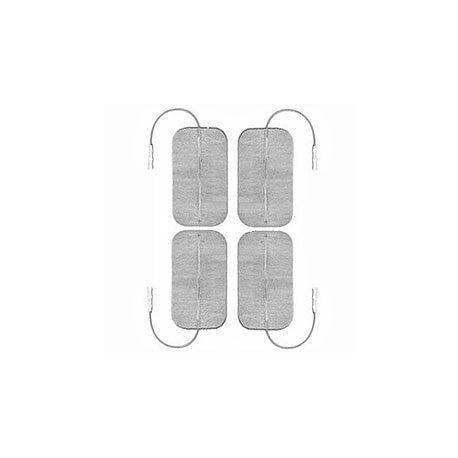 GLOBUS ELECTRODOS MYOTRODE PLATINO 50X90 - (PAQUETE 4 UDS)