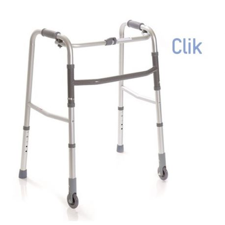 MORETTI FOLDABLE WALKWAY WITH 2 TOE AND 2 FIXED WHEELS