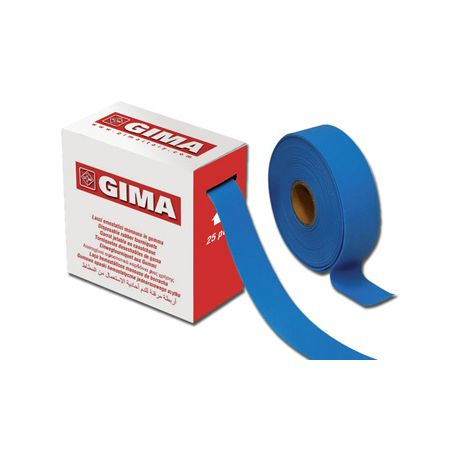 GIMA TAPE TOURNIQET - DISPOSABLE - LATEX FREE - 25 PRE-CUT