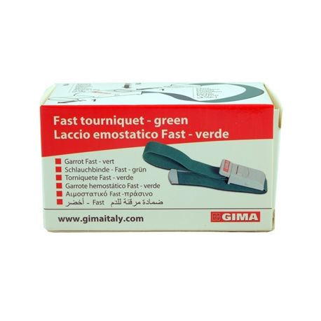 GIMA FAST TOURNIQUET - RED OR GREEN (5X1PC)