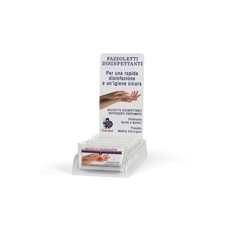GERMO TOALLITAS DESINFECTANTES GERMOXID FLOPACK - CON EXPOSITOR (16 UDS)