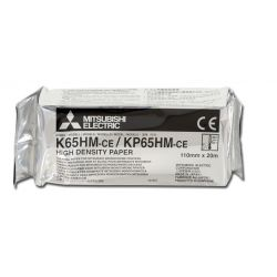 MITSUBISHI ORIGINAL PAPER FOR PRINTER - K65HM-CE / KP65HM-CE - IN A6 FORMAT - (PACK. 4 PCS.)