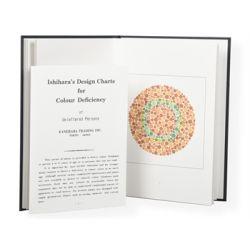 GIMA  ISHIHARA COLOUR TESTS - 10 TABLES FOR ILLITERATES