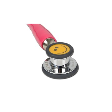 GIMA ERKA FINESSE 2 STETHOSCOPE - PEDIATRIC - PINK - BLACK