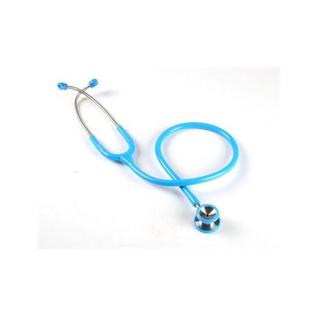 GIMA CLASSIC PAEDIATRIC DUAL HEAD STETHO - Y - LIGHT BLUE - BLACK