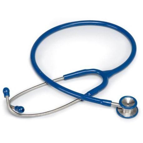 MORETTI PEDIATRIC STETHOPHONENDOSCOPE IN STAINLESS STEEL - BLUE - BLACK - RED
