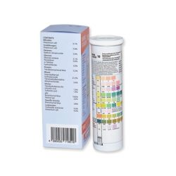 GIMA URINE STRIPS 10 PARAMETERS - PROFESSIONAL USE (BOX OF 100 PCS)