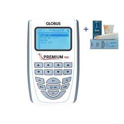 GLOBUS ELECTROESTIMULADOR PREMIUM 150 A 4 CANALES PARA DEPORTISTAS EXIGENTES CON 110 PROGRAMAS + 1 GLOBUS CREMA REAFIRMANTE