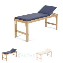 MORETTI BED FOR TREATMENTS AND VISITS - ANTARES - WHITE - BLUE