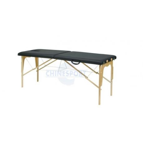 CHINESPORT EXAMINATION BED WITH WOODEN SUITCASE - 150KG - GIJON MODEL