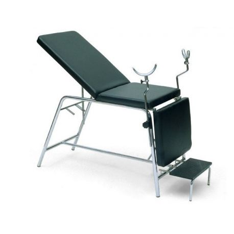 GALENO BED FOR GYNECOLOGY WITH FOOTSTOOL