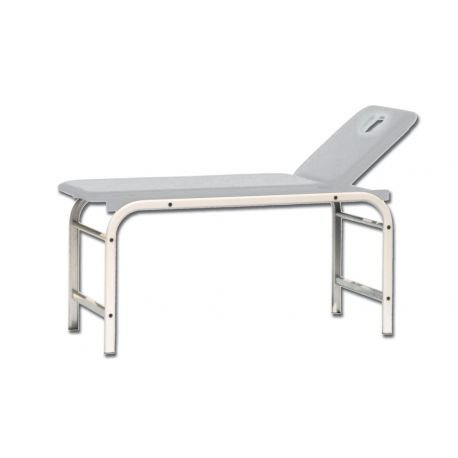 GIMA KING EXAMINATION COUCH WITH HOLE - WHITE - GREEN