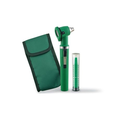 GIMA GIMALUX F.O. OTOSCOPE - BLACK - GREEN - BLUE