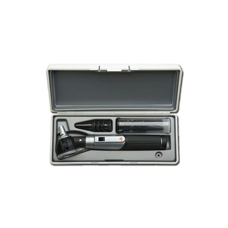 HEINE MINI 3000 F.O.LED OTOSCOPE WITH CASE - BLACK