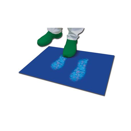 GIMA DECONTAMINATING MAT 90x115 CM - 30 LAYERS - BLUE