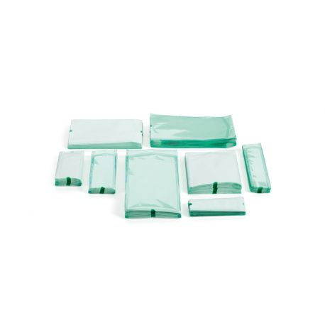TECNO-GAZ FLAT BAGS FOR TECNOSEAL ROTARY SEALERS - DIFFERENT SIZES (BOX. 1000 PCS)