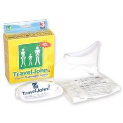 GIMA TRAVELJOHN DISPOSABLE URINAL 800CC (3 PCS)