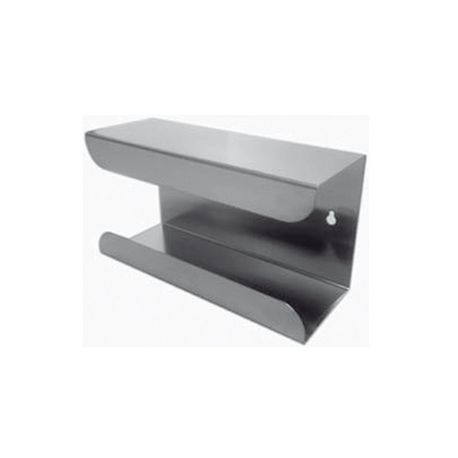 GIMA GLOVE DISPENSER - SINGLE - STAINLESS STEEL