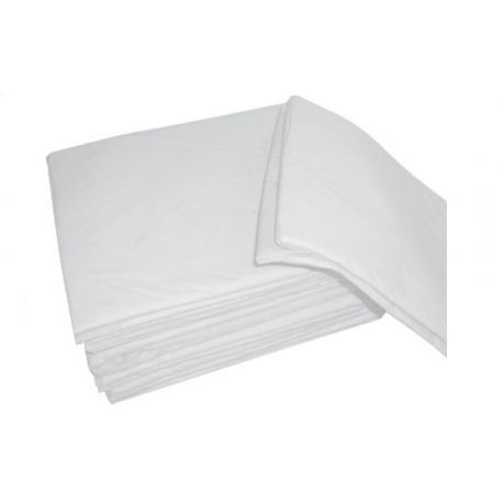 MEDICAL SUD DISPOSABLE SHEET COVER 140X240 IN WHITE TNT - 25 GR / M2 - (PACK. 100 PCS)