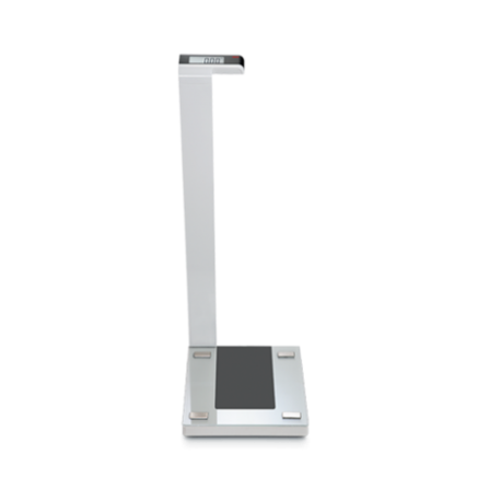 SECA SECA 719 DIGITAL COLUMN SCALE WITH GLASS PLATFORM - CAPACITY 180 KG