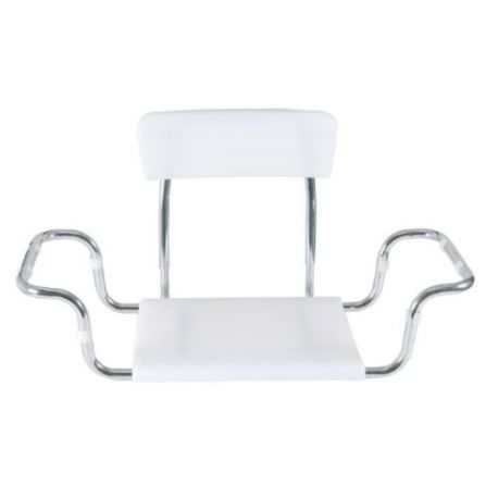 MORETTI SEAT FOR BATHTUB SEATED IN MOPLEN WITH BACKREST