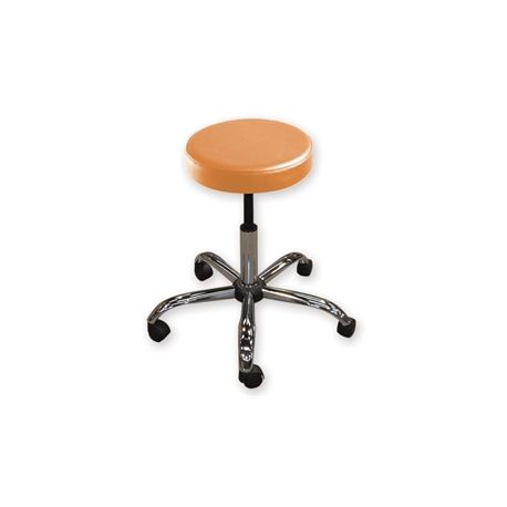 GIMA  STOOL - PADDED SIMULATED LEATHER - HEIGHT AJUSTABLE - DIFFERENT COLORS