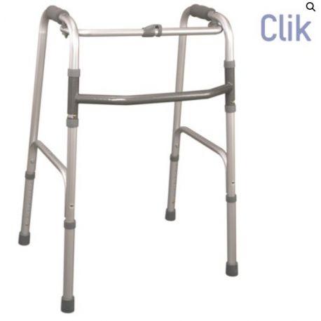 MORETTI FOLDING WALKER WITH 4 TOE-TIPS
