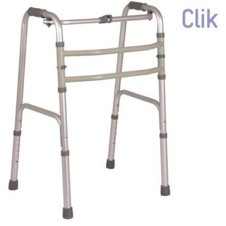 MORETTI DOUBLE FUNCTION FOLDING WALKER - FIXED OR OSCILLATING