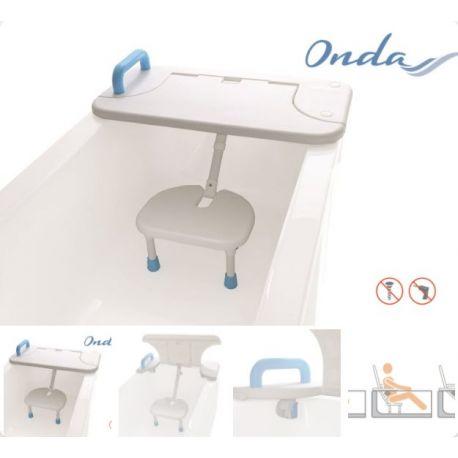 MORETTI SEAT FOR BATHTUB - IN POLYETHYLENE