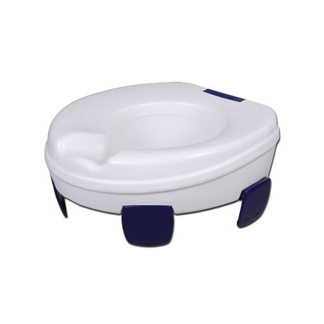 GIMA CLIPPER RAISED TOILET SEAT - HEIGHT 11 CM
