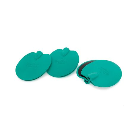 WEELKO SLIMMING PAD TWO-UNIT SET OF OVAL-SHAPED ELECTRODES OF 92 MM