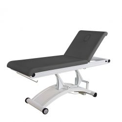 WEELKO ELECTRIC MASSAGE BED (PU, 1 MOTOR)  - WHITE OR BLACK (CERVIC)